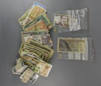Bag Containing Large Quantity of Foreign Bank Notes. Charitable Donations, So could Contain All