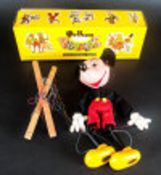 Pelham Handmade Puppet 'Mickey Mouse' complete with original box. In good condition.
