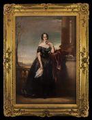Daniel Macnee 1806 - 1882 19th Century Portrait of The Young Aristocratic Lady Elsie Ann Lochart,