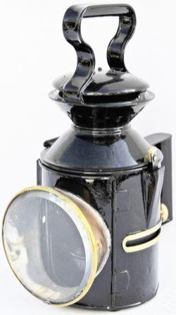 GER sliding knob Handlamp stamped 112 WHITEMOOR dated 1929. Tastefully restored.
