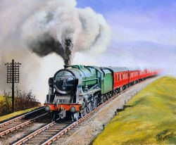 Original Oil Painting on canvas '45527 SOUTHPORT near Oxenholme' by Joe Townend GRA. Measures 24 x