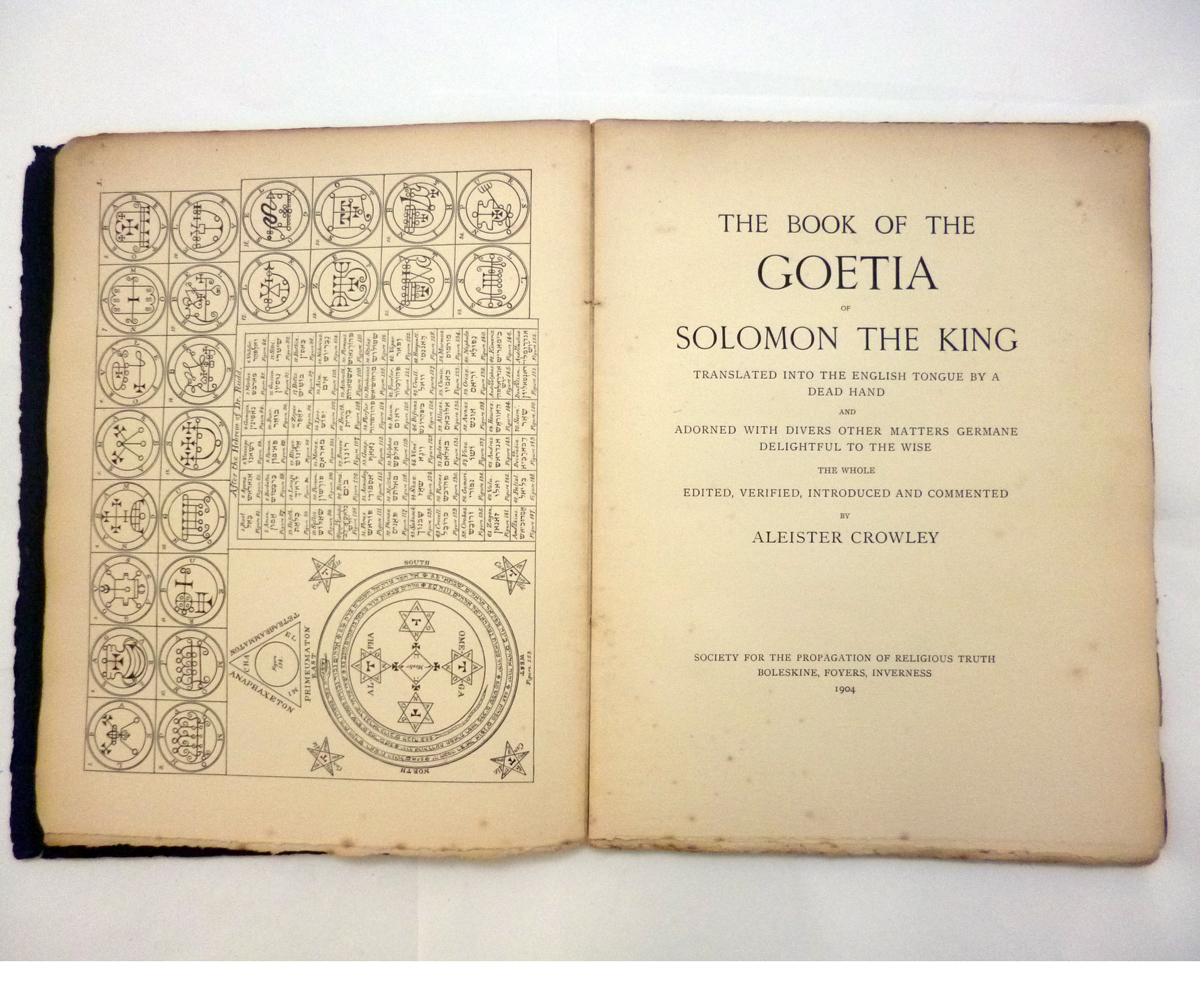 ALEISTER CROWLEY: 2 ttls: THE SWORD OF SONG CALLED BY CHRISTIANS THE BOOK OF THE BEAST, Benares, - Image 10 of 14