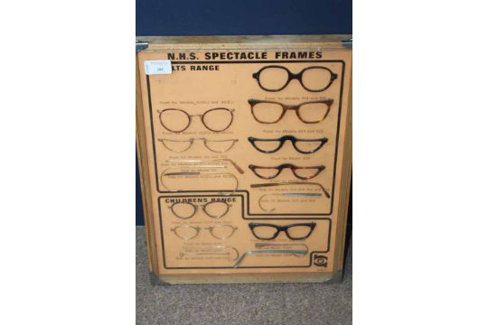 fe37190c3e UNUSUAL VINTAGE NHS SPECTACLE FRAMES DISPLAY SELECTION Adult and ...