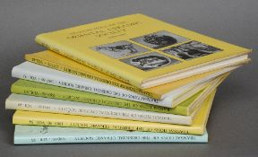 Seven volumes of Transactions of the Oriental Ceramics Society Six with dust jackets, one
