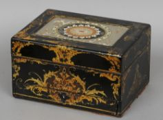 A 19th century vanity case