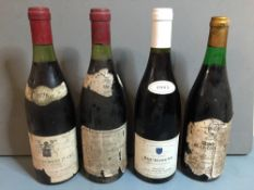 "Nuits-St.-Georges ""Les Hauts Pruliers"", 1978 Single bottle; together with  Vosne-Romanee ""Les"