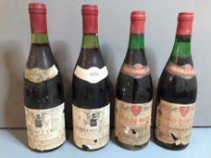 "Domaine Machard de Gramont, Beaune 1er Cru ""Les Chouacheux"", 1978 Single bottle; together with"