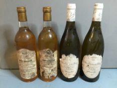 Duc Etienne de Loury, Sancerre, 1984 Two bottles; together with white Bordeaux, two bottles.  (4)