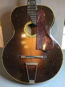 "An early 1930s Grimshaw ""The EG Revelation Duluxe Model Resonator Guitar""  With antique sunburst"