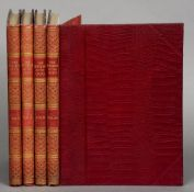 Leighton, Robert.  The New Book of the Dog. Special subscribers edition in 4 volumes, 1907, in