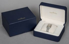 A boxed Jaeger leCoultre Reverso wristwatch 60 Minute timing function, ref. 255.