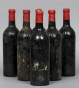 Berry Brothers & Rudd Limited Chateau Cheval Blanc St Emilion, unknown vintage but probably 1940s