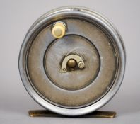 Hardy Bros. Ltd, a 3 1/8 inch Uniqua fly reel, duplicated MkII CONDITION REPORTS: Generally in