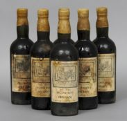 Berry Brothers & Co., Very Choice Oloroso Sherry Six bottles, wax seals.  (6) CONDITION REPORTS: