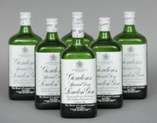 Gordon's Special Dry London Gin, 75 cl Six bottles.