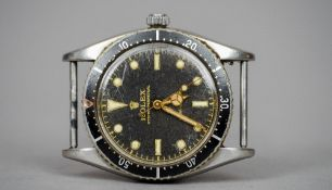 A Rolex stainless steel Oyster Perpetual Turn-o-Graph gentleman's wristwatch The signed black dial