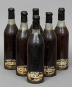 Berry Brothers & Co., Very Old Liqueur Brandy Six bottles, was seals.  (6) CONDITION REPORTS: