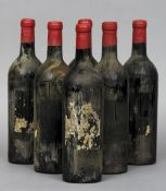 Berry Brothers & Rudd Limited Chateau Cheval Blanc St Emilion 1940s Six bottles.  (6) CONDITION