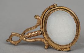 A yellow metal framed Chalcedony seal The hinged matrix worked with a three masted ship.  4.5 cm