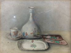 CHINESE SCHOOL (19th/20th century) Still Life  Watercolour 19.5 x 15 cm, framed and glazed CONDITION