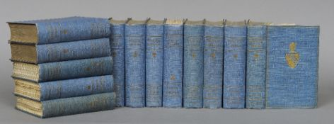 BYRON, LORD.  Poetical works of Lord Byron 1914-18  Vols 1-13, in original cloth binding; together