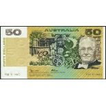 (x) Reserve Bank of Australia, two sets of $1,2,5,10,20,50 and $100, ND (1979-1985), all Knight-