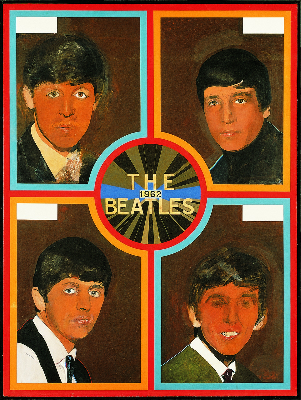 Sir Peter Blake (b.1932) - The Beatles, 1962, 2012, 20 colour screen print, printed on Somerset