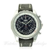 A GENTLEMAN'S STAINLESS STEEL BREITLING FOR BENTLEY MOTORS SPECIAL EDITION CHRONOGRAPH WRIST WATCH