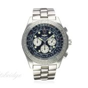 A GENTLEMAN'S STAINLESS STEEL BREITLING B-2 AUTOMATIC CHRONOGRAPH BRACELET WATCH CIRCA 2006, REF.