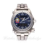A GENTLEMAN'S TITANIUM BREITLING EMERGENCY ORBITER 3 BRACELET WATCH WITH BOX & PAPERS DATED 1999