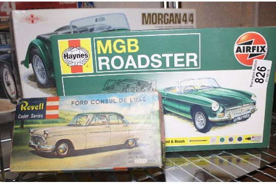 Airfix mgb roadster instructions