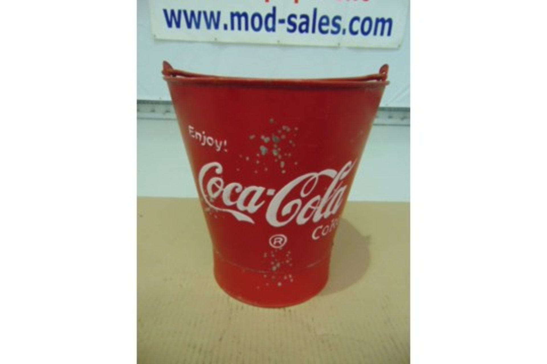 Lot 25878 - 3 x Coca Cola Reproduction Ice Buckets