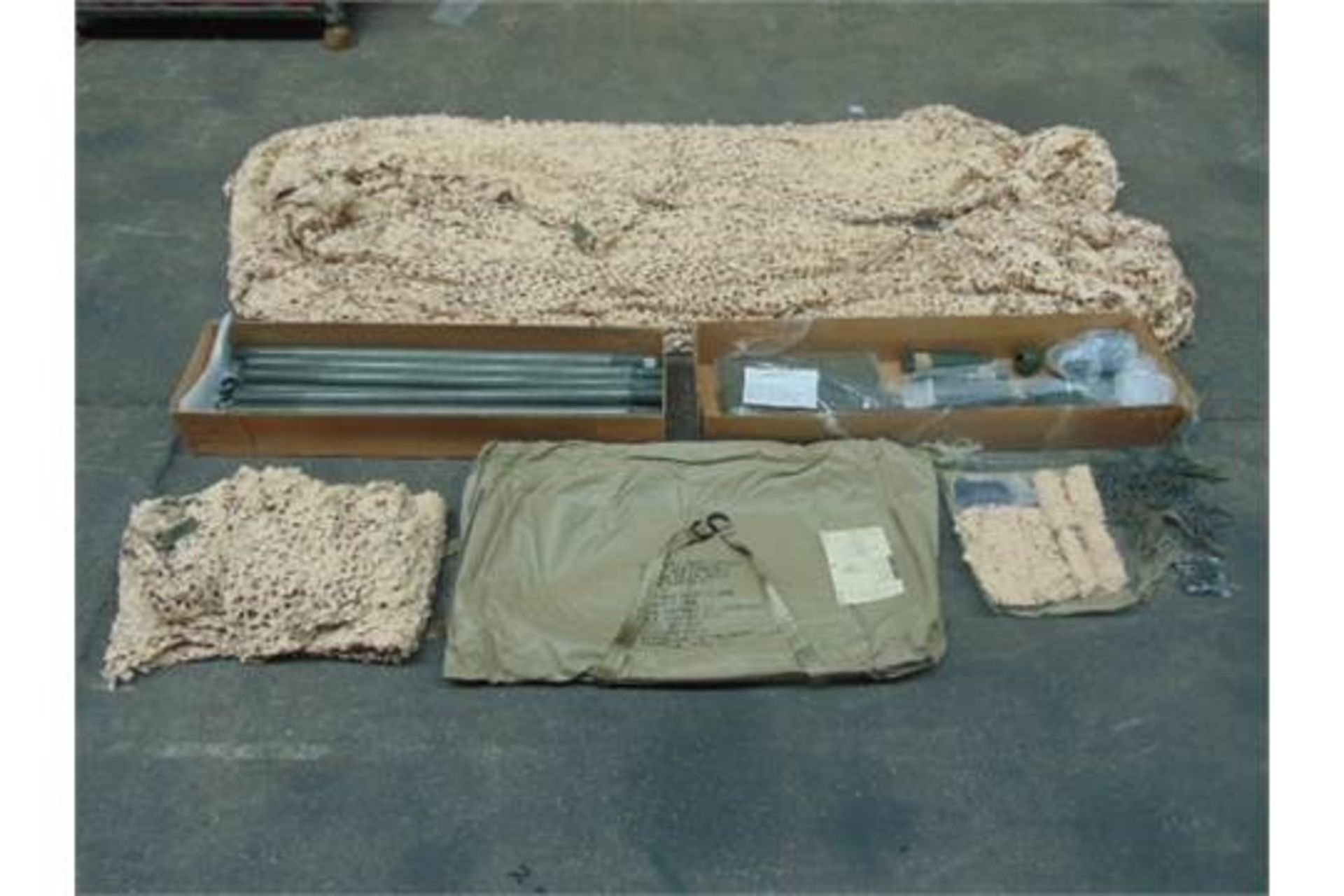 Lot 26792 - Unissued AFV Desert Vehicle Camouflage System