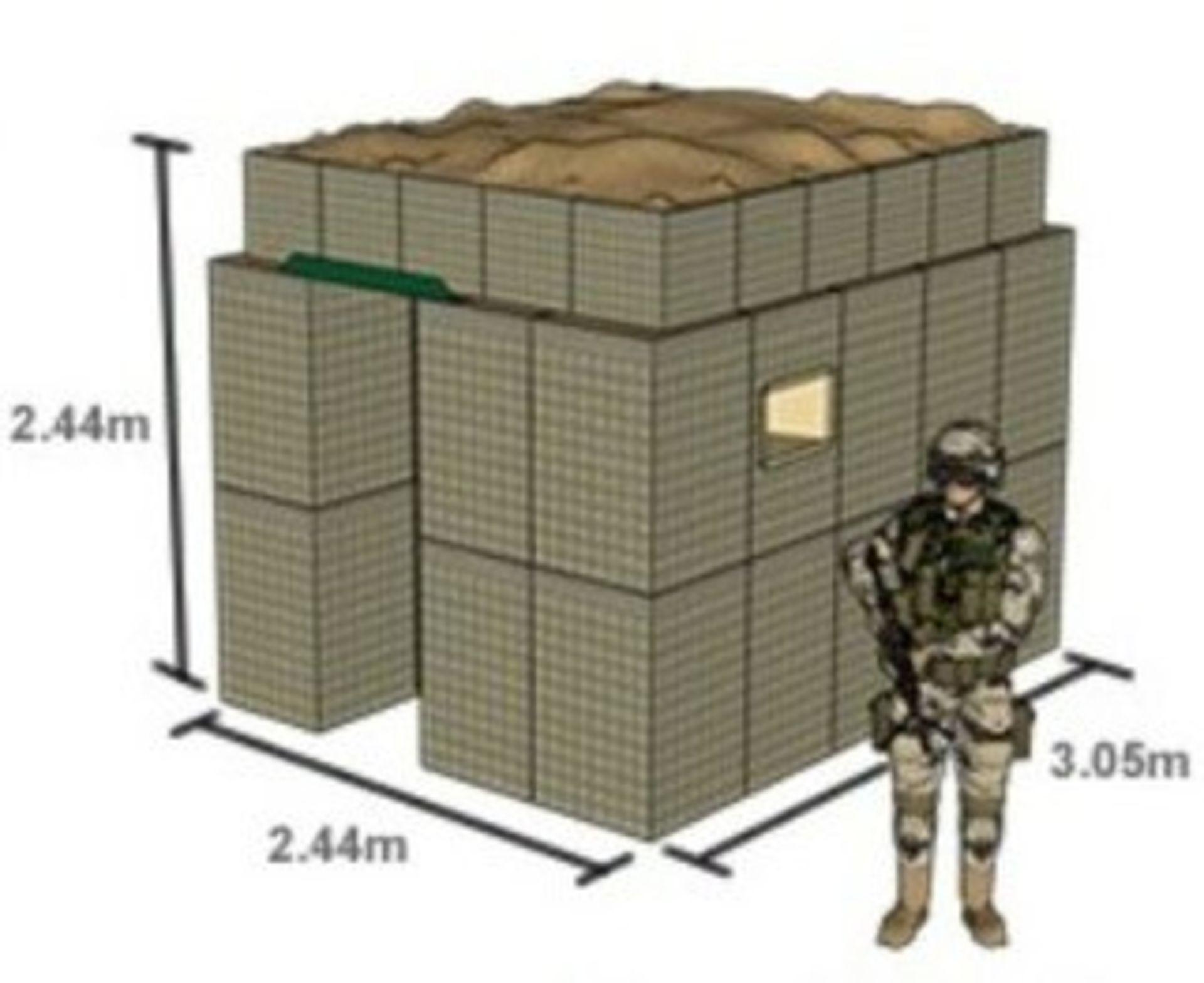 Lot 25855 - Hesco Bastion Sangar (Guard Post Kit)