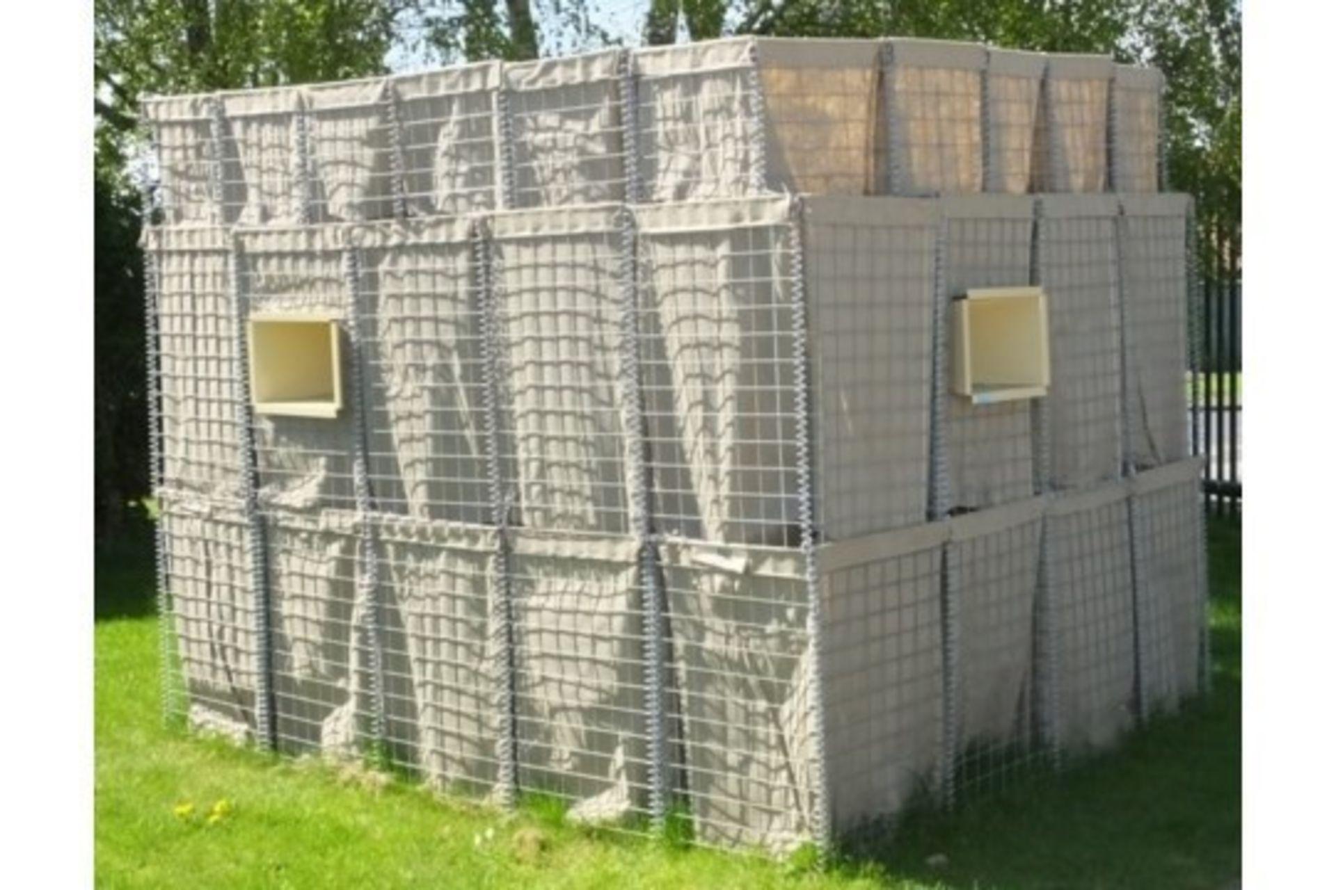 Lot 26824 - Hesco Bastion Sangar (Guard Post Kit)