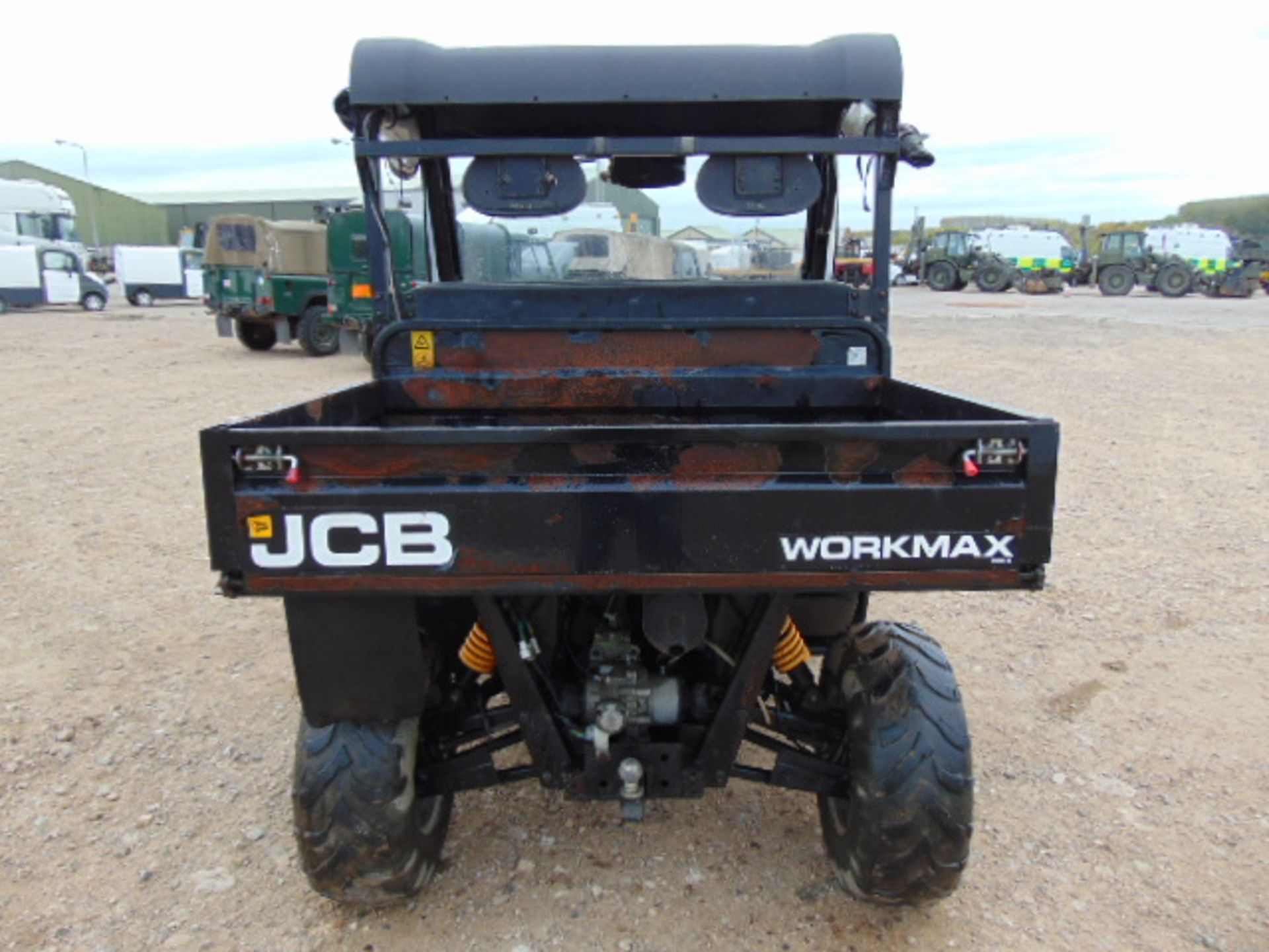 You Are Bidding On A Jcb Workmax 800d 4wd Diesel Utility
