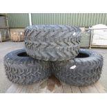 3 x Simex Treadlite 31x15.50-15 Tyres