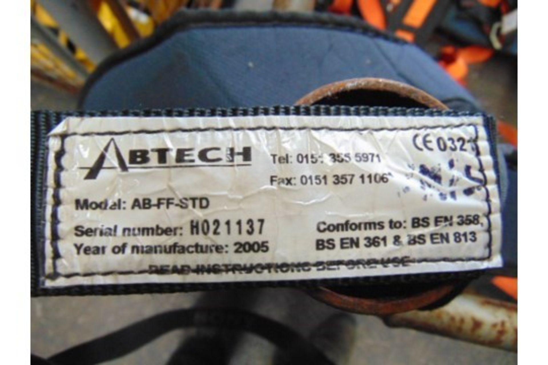 Lot 26624 - 9 x Abtech AB-FF-STD Rescue Harnesses.