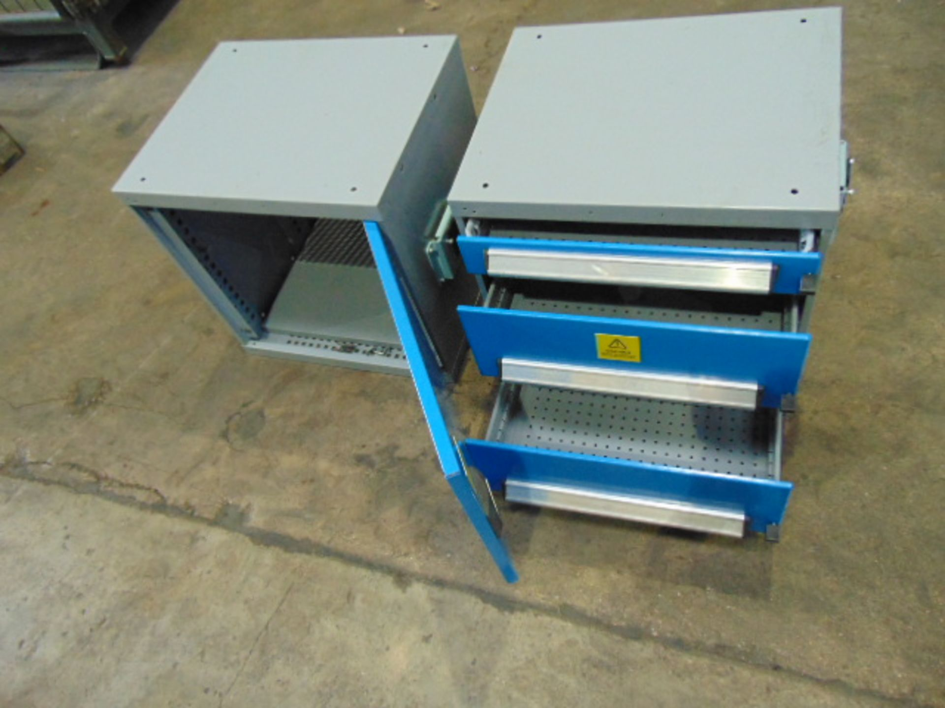 Lot 25851 - Heavy Duty Storage Cabinet and Drawers