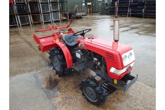You are bidding on a Shibaura 4WD Compact Tractor C/W