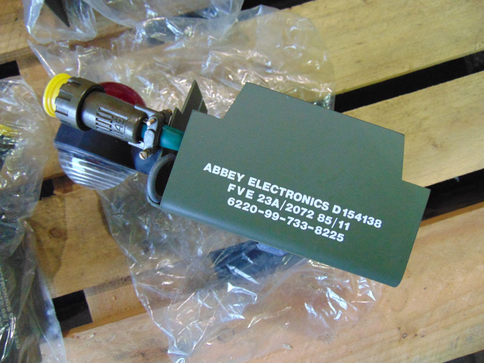 Lot 26839 - 4 x Unissued Abbey Electronics Side Marker Lights