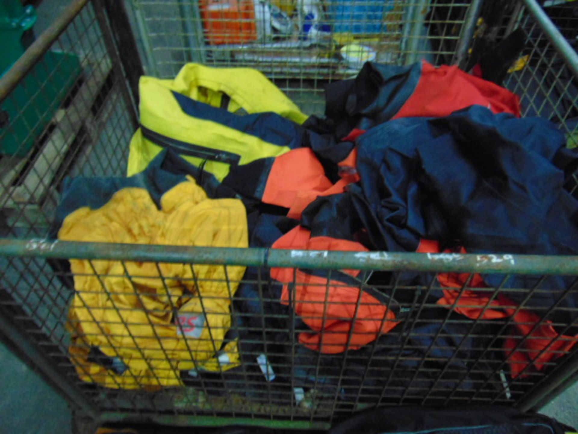Lot 27270 - Qty Approx 17 x Ex UK Fire and Rescue Service Mixed Size Dry Suits