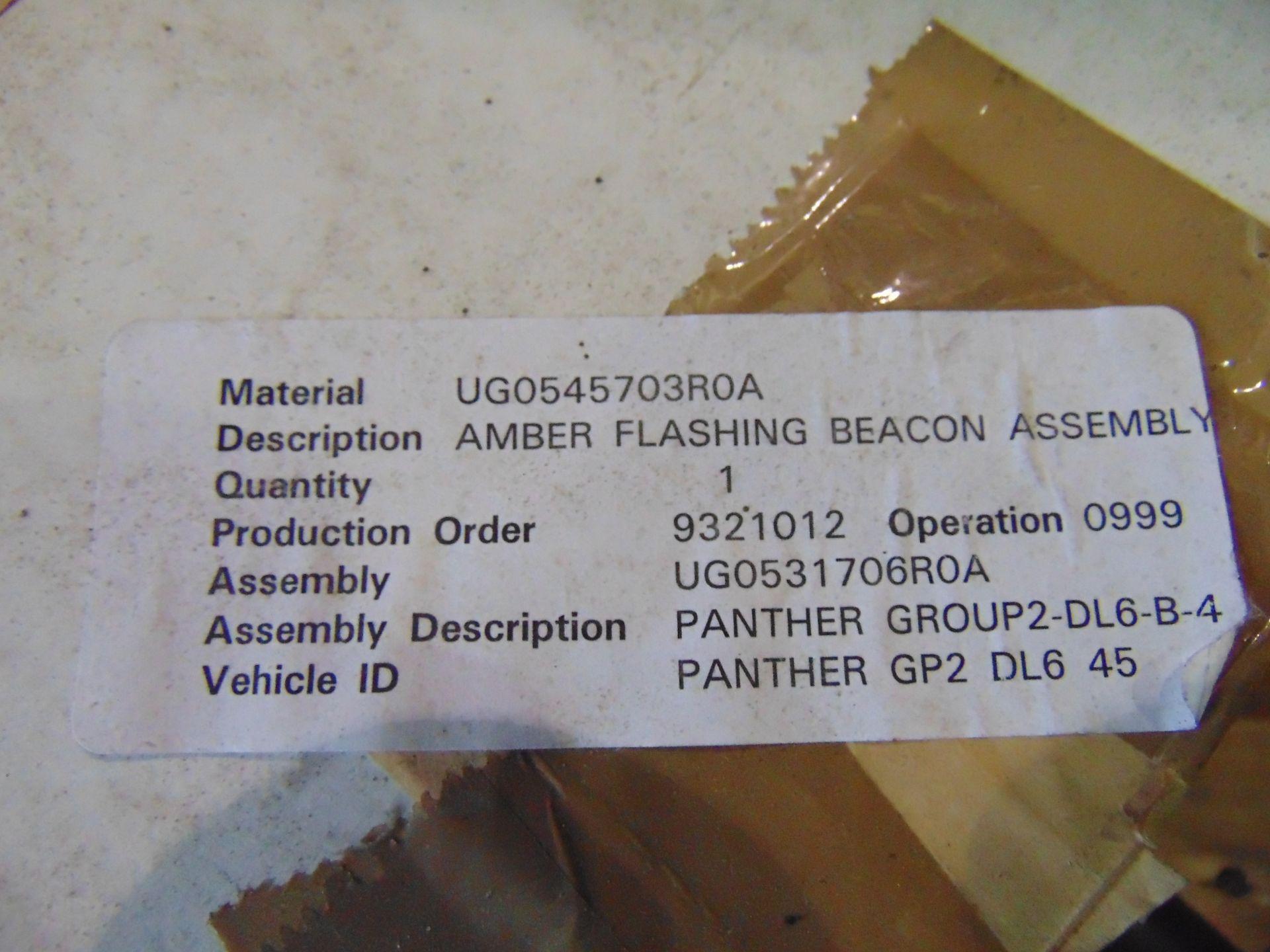 Lot 26832 - Unissued Pole Mounted Amber Flashing Beacon Assy