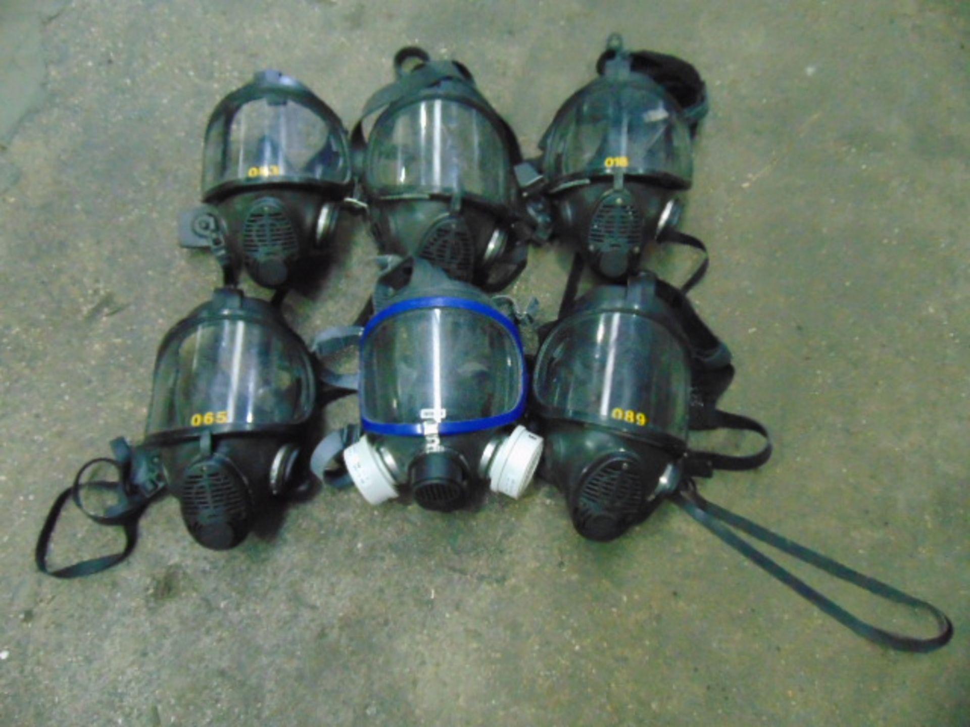 Lotto 26400 - 6 x Breathing Apparatus Masks