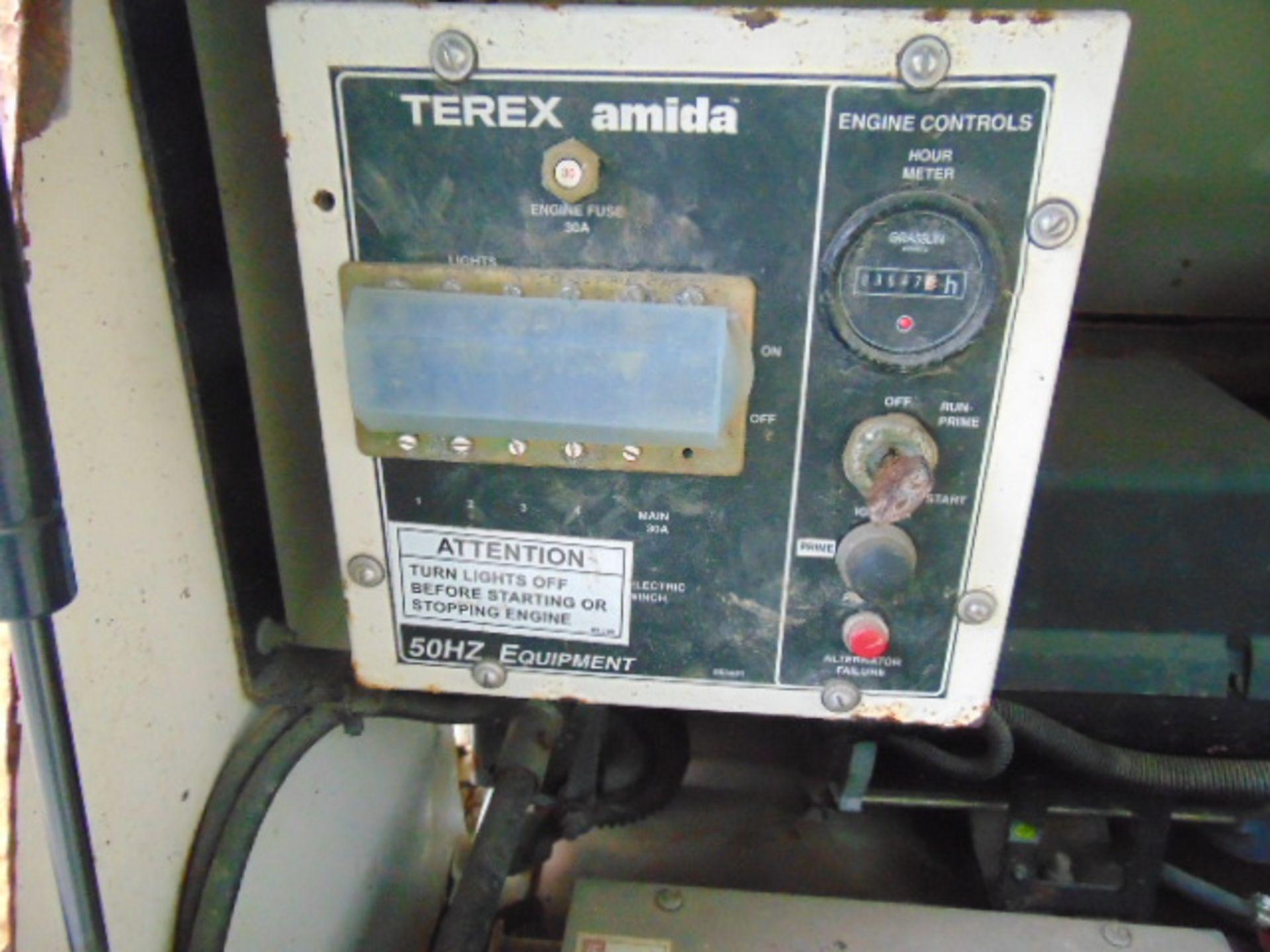 Lotto 26394 - Terex Amida AL4050D-4MH Kubota Diesel Powered Trailer Mounted Lighting Tower