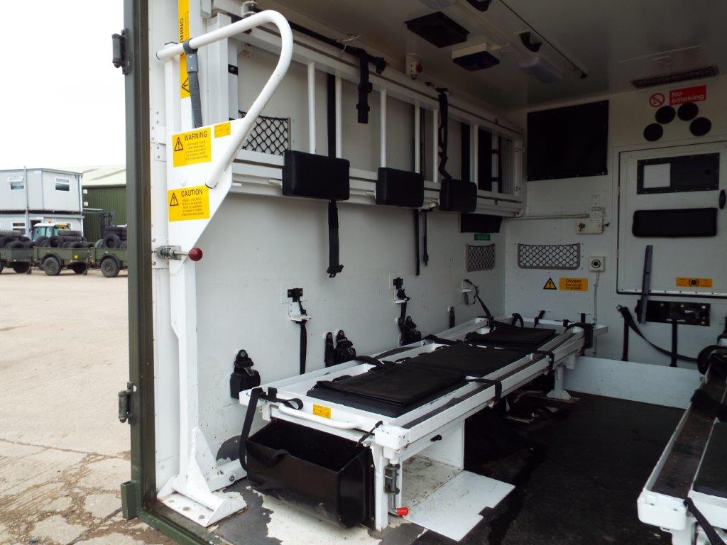 Lot 20943 - Military Specification Land Rover Wolf 130 Ambulance