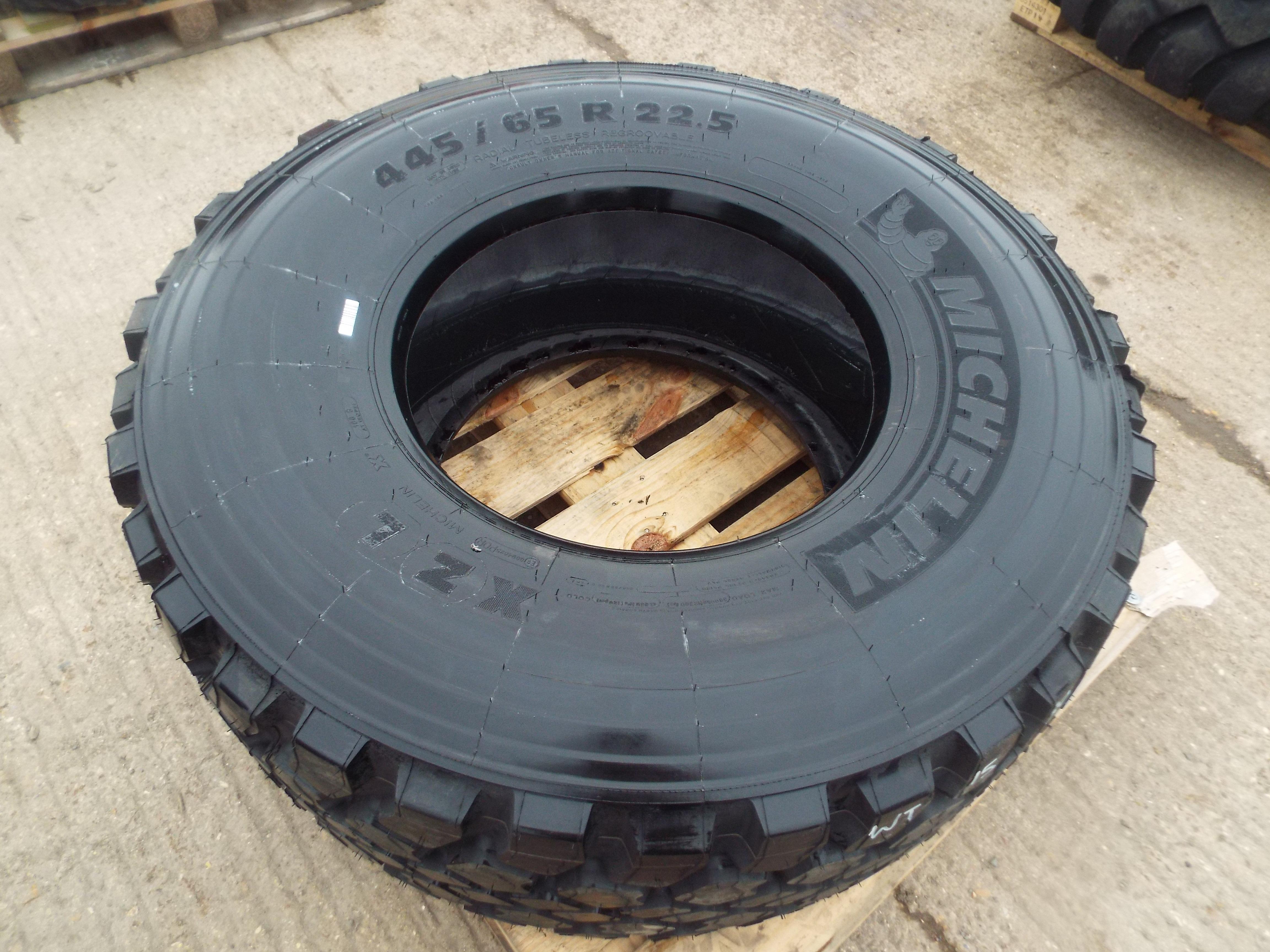 Lot 14005 - Michelin 445/65 R22.5 XZL Tyre