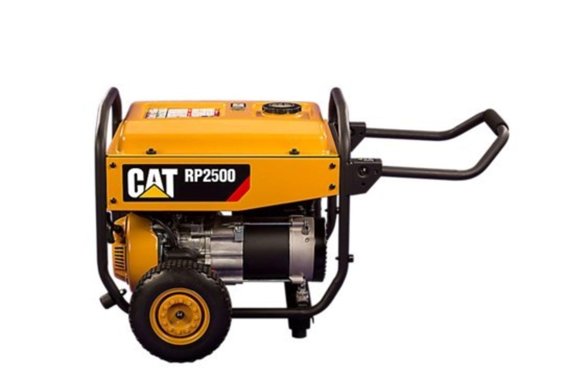 Lot 25870 - UNISSUED Caterpillar RP2500 Industrial Petrol Generator Set