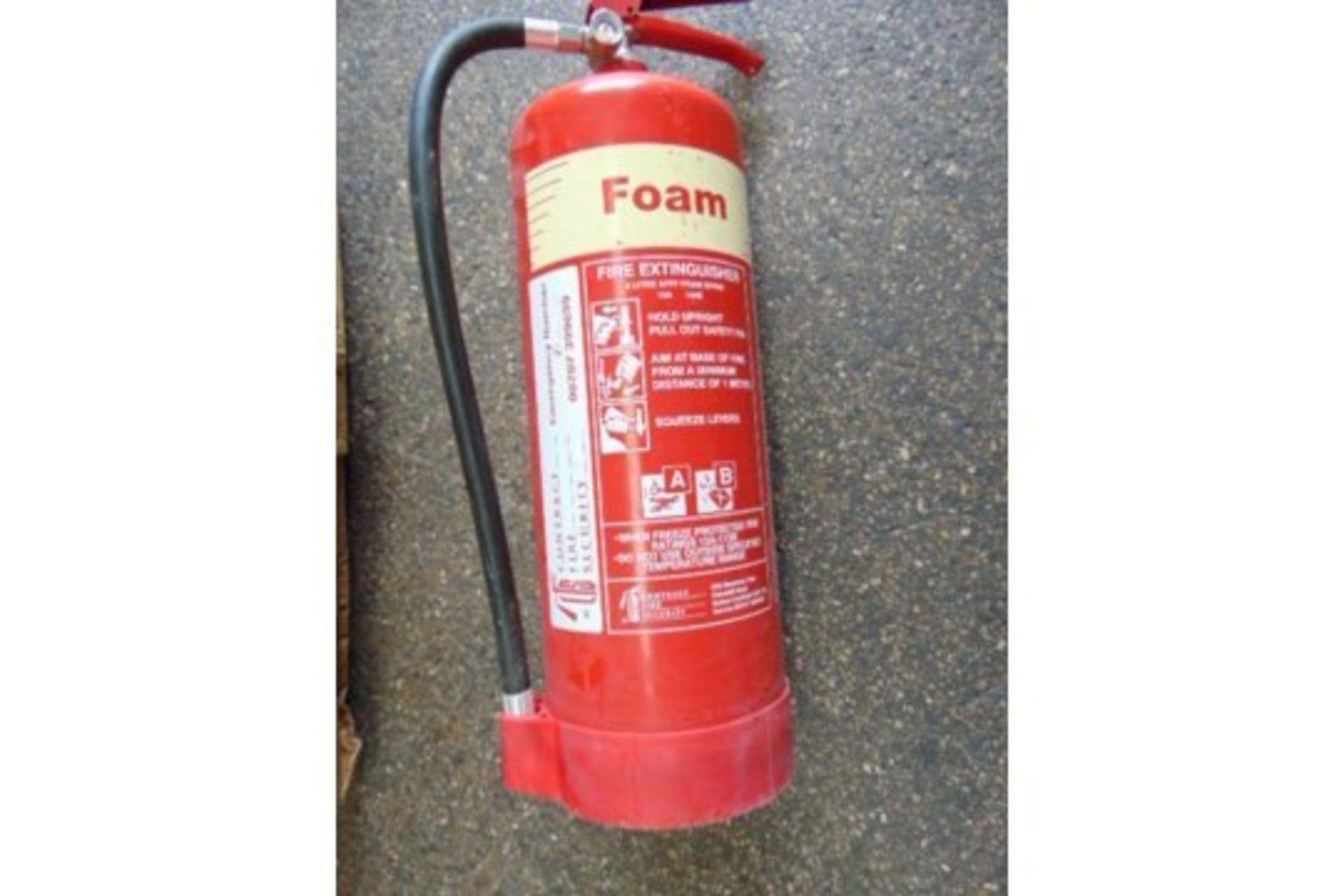 Lot 25821 - 42 x 6 Litre AFFF Foam Fire Extinguishers