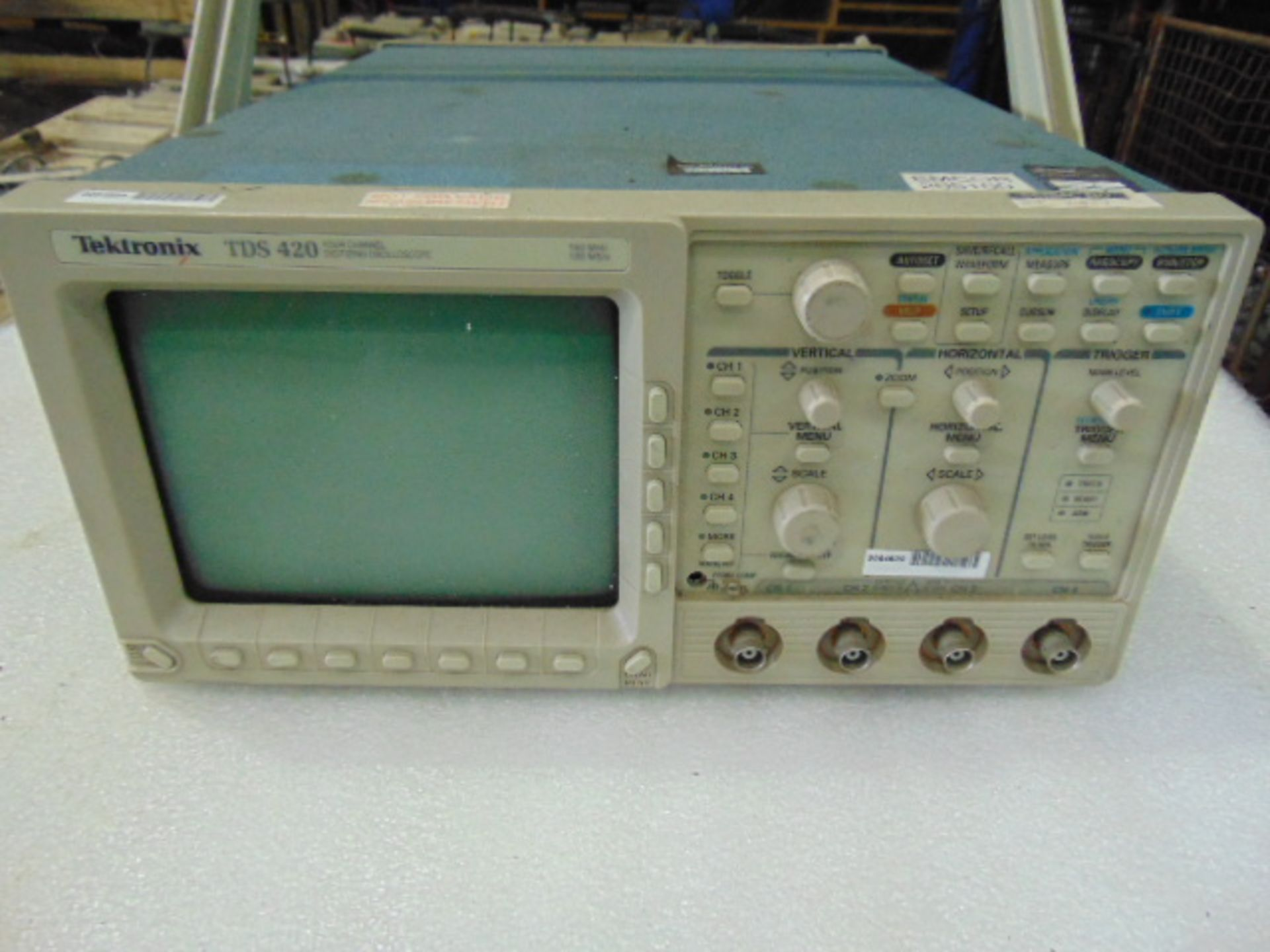 Lot 27330 - Tectronix TDS 420 Four Channel Digitizing Oscilloscope